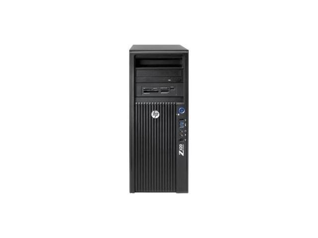 HP Z420 Workstation Mini-tower Workstation Intel Xeon E5-1650 v2 3 50 GHz  32GB DDR3-1866/PC3-14900 Windows 7 Professional Upgradable to Windows 8 1