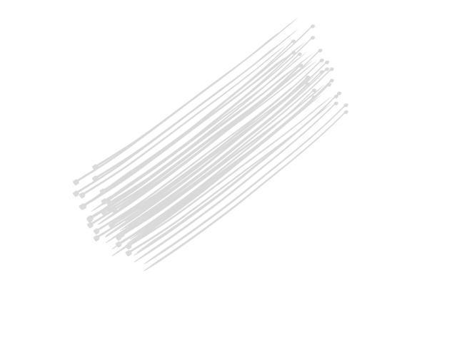 5mm x 500mm self locking reusable cable zip ties beige