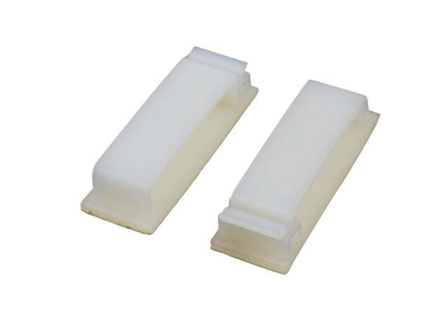 2 Pcs FC 40 Double Side Self Adhesive Cable Ties Wire Orgnizer Clip Off