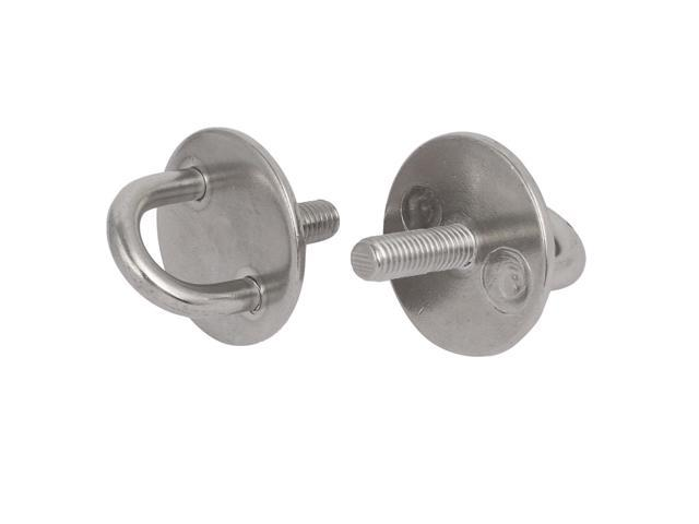 304 Stainless Steel Boat Threaded Lifting Eye Bolt Ring Tie Down M6 x 40mm