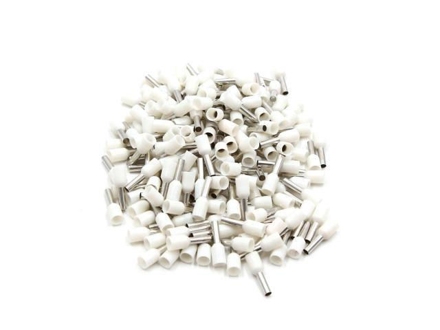 200pcs White Insulated Copper Awg 14 Wire Crimp Connector