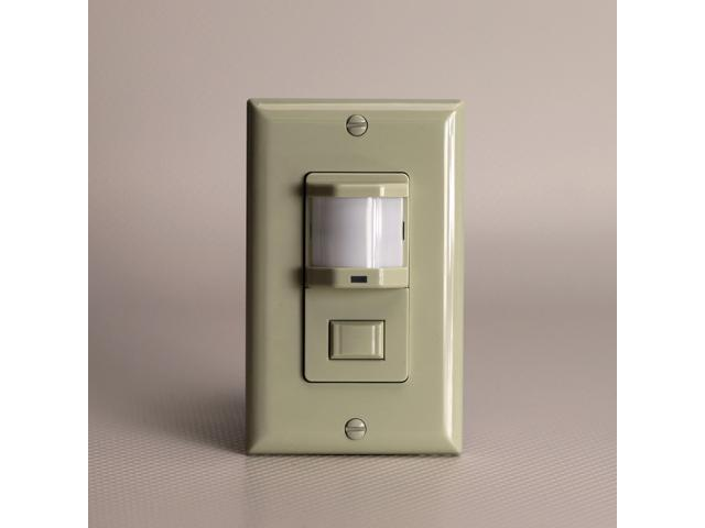 PIR Motion Sensor Light Switch, Infrared Auto Occupancy Detector ...