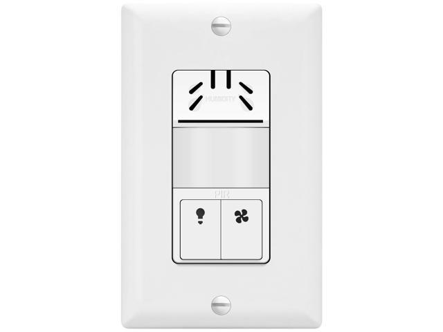 TOPGREENER TDHOS5 Humidity Sensor Switch, Dual Tech ...