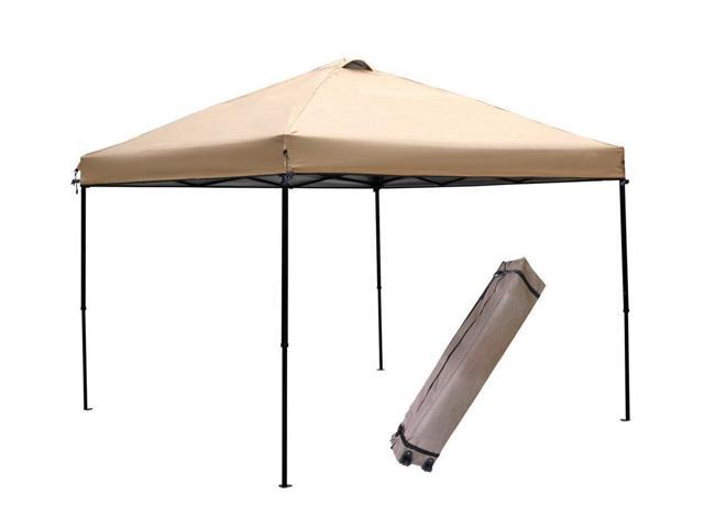 abba patio 10 x 10 feet outdoor pop up portable shade instant folding canopy with roller - Abba Patio