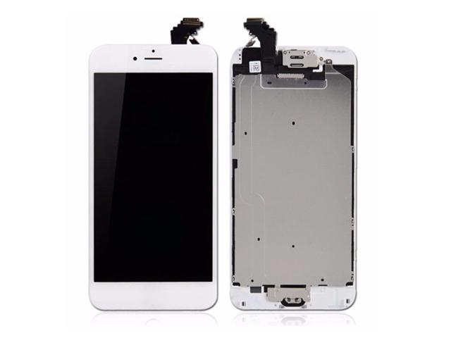 reputable site 268ef 64d0e For iPhone 6 plus LCD Touch Screen Display Digitizer Assembly Replacement  LCD Display For 5.5 inch iPhone 6 Plus-White - Newegg.ca