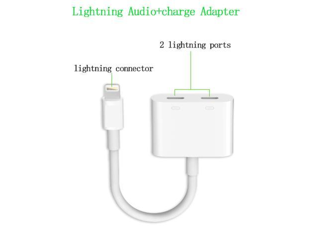 cheaper b292c 5667b 2 in 1 Lightning Adapter for iPhone 7, Headphone Audio & Charge Adapter,  Dual Lightning Splitter for iPhone 7 / 7 Plus - Newegg.ca