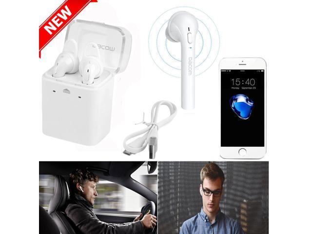 19fba624630 Dacom GF7 TWS Black True Wireless Bluetooth 4.2 Earbuds earphones Mini  In-Ear Double Twins