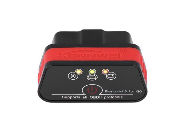 KW901 ELM327 Bluetooth 4 0 ODB2 II Diagnostic Code Scanner Reader Tool  Special for IOS/iPhone/iPad BT Adapter ELM327 - Newegg com