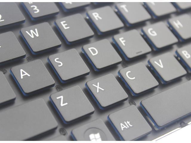 Original New for Fujitsu Lifebook SH572 SH771 SH772 US Keyboard with Blue Keycap