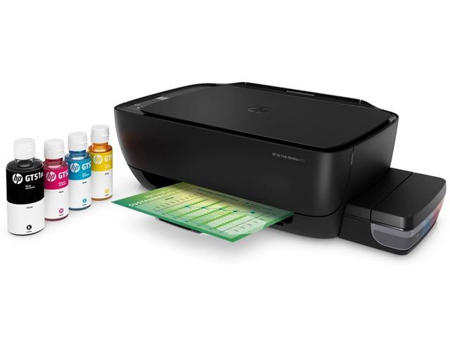HP Ink Tank Wireless 415 Continous Ink Supply System All-in-One Inkjet  Printer Z4B53A Print Scan Copy - Newegg com