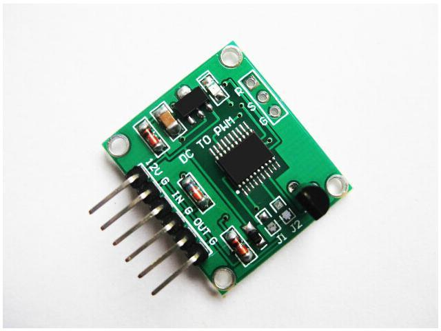 Frequency to Voltage 0-10Khz to 0-5V 0-10V Linear Conversion Transmitter Module