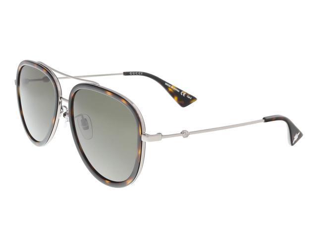 2155d5a38a Gucci GG0062S 002 Havana Aviator Sunglasses - Newegg.com
