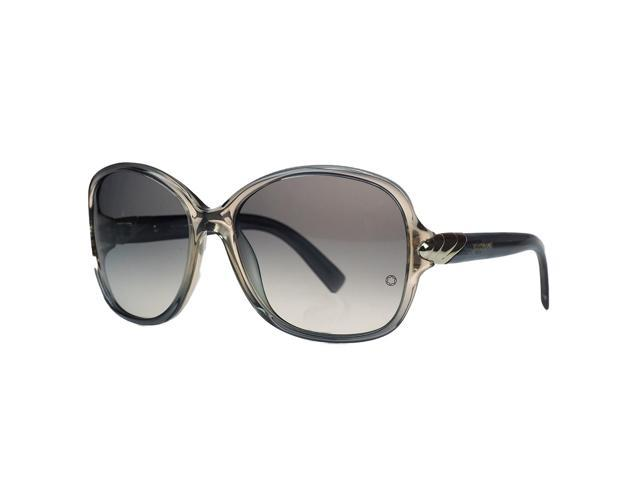 11be2c06759 Montblanc MB412 S 20B Grey Square Sunglasses - Newegg.com