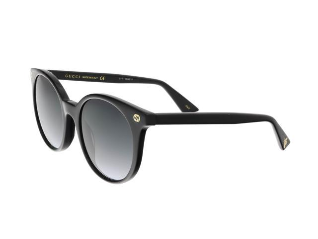 07dc9d9102 Gucci GG0091S 001 Black Round Sunglasses - Newegg.com