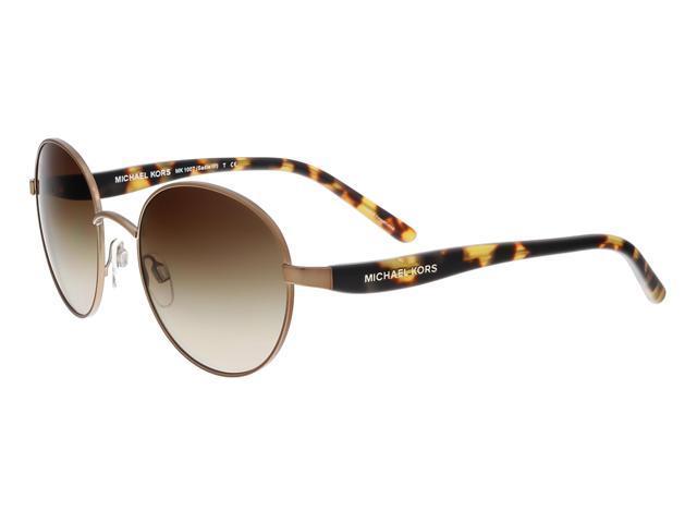 6b9f1702b96b Michael Kors MK1006 SADIE III 106013 Sable Tortoise Round Sunglasses