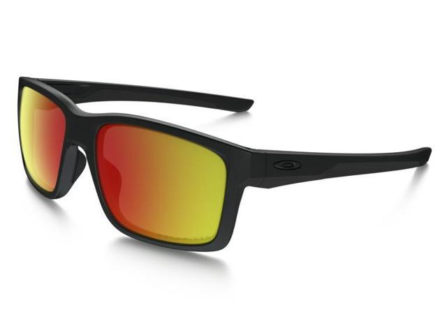 33647800b80 Oakley Mainlink Sunglasses OO9264-07 Matte Black Frame   Ruby Iridium Polarized  Lens
