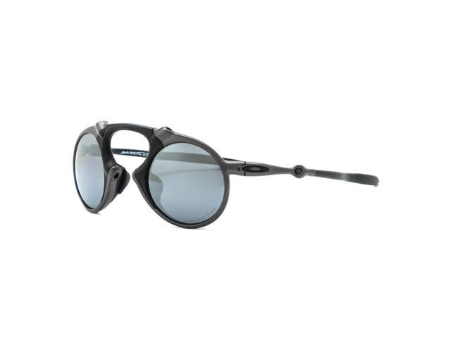 84bd016deb95 Oakley Madman Sunglasses OO6019-02 Pewter   Black Iridium Polarized ...
