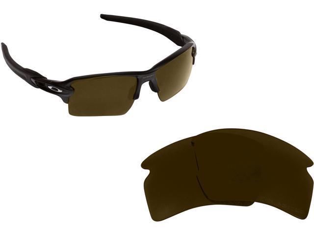 89003c7c6a FLAK 2.0 XL Replacement Lenses Polarized Bronze Brown by SEEK fits OAKLEY