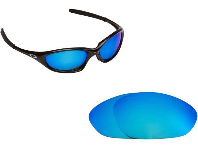 61ca1b7c3e Best SEEK Polarized Replacement Lenses for Oakley TWENTY XX (Old) Blue  Mirror
