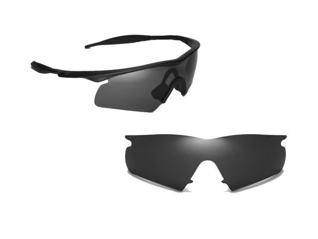 Best SEEK OPTICS Replacement Lenses for Oakley M FRAME HYBRID Black ...
