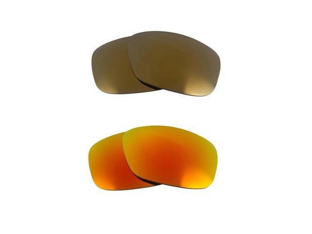 833df7f2c1 Best SEEK Polarized Replacement Lenses Oakley TWOFACE Gold Fire Red Mirror