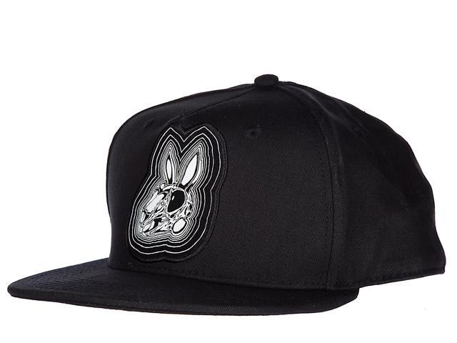 MCQ ALEXANDER MCQUEEN ADJUSTABLE MEN S COTTON HAT BASEBALL CAP BUNNY BLACK 0c0c84bcd4df