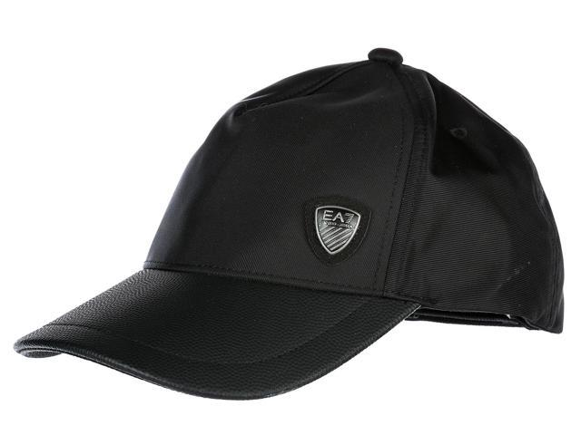b0dd67ec726 EMPORIO ARMANI EA7 ADJUSTABLE MEN S HAT BASEBALL CAP TRAIN SOCCER BLACK
