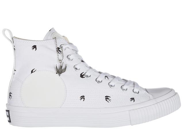 Cheap Prices Reliable Alexander McQueen Micro Swallow High-Top Sneakers 2018 Sale Online wQQWDHnG3