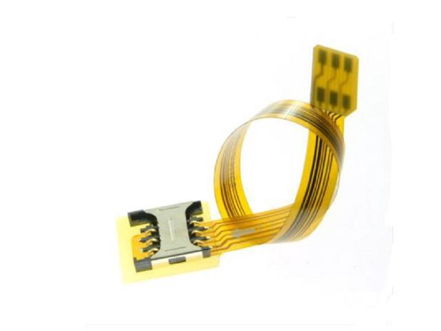 Micro SIM Card to Female to Nano SIM Kit Male Extension FPC Cable Extender