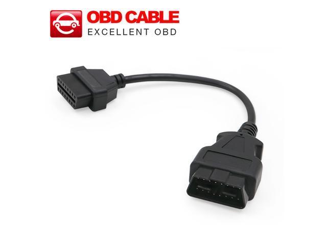 Tekit® (5ft/1.5m) OBD 2 OBD II 16 Pin Car Male
