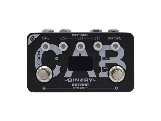 Hotone Binary Series IR Cab Impulse Response Cabinet Simulator Guitar/Bass  Effects Pedal - Newegg com