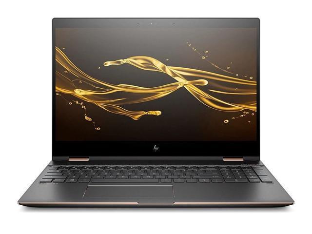 Refurbished: 2018 HP Spectre x360 15-CH011DX 4K 2 in 1 Touch Screen Laptop  - Intel Core i7-8550U, GeForce MX150, 512GB SSD, 16GB RAM, Windows 10 -