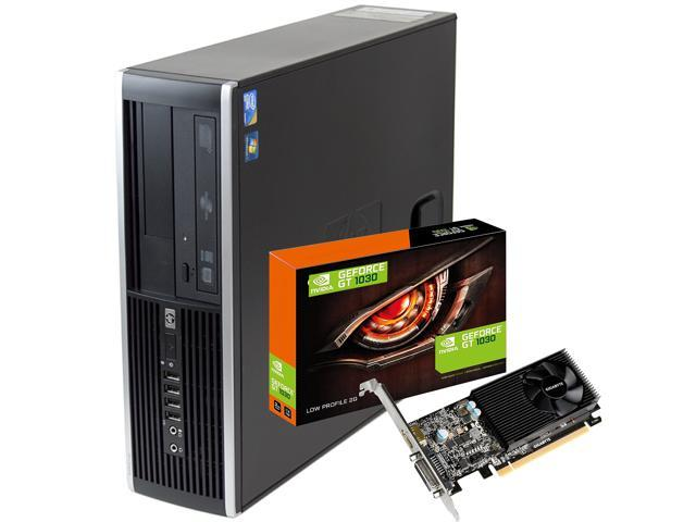 Hp Elite 8200 Desktop Computer Nvidia GT 1030 SFF Quad I5 3 1Ghz 8Gb 500Gb  Win 10 WiFi HDMI - Newegg com