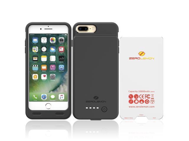 official photos ae042 9860a iPhone 7 Plus Battery Case, ZeroLemon 10000mAh Slim Juicer Portable Charger  iPhone 7 Plus Charging Case - Black - Newegg.com