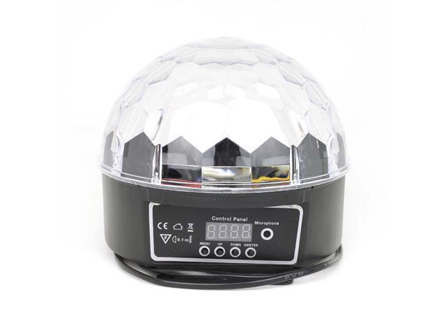 Crystal LED Magic Ball XL-10B LED Effect Stage Lights Led RGB Rotating Lamp For