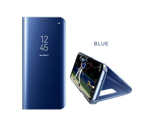 official photos 9133c 58cab Clear View Mirror Smart Case For Samsung Galaxy S9 Plus Leather Flip Cover  Case - Newegg.ca