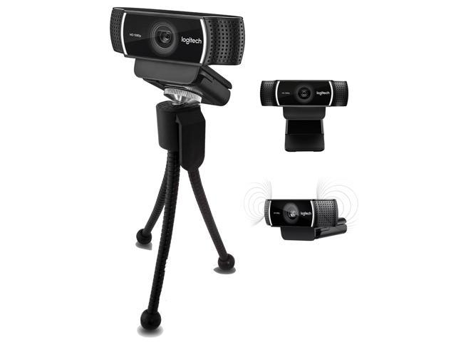 Logitech C922x Pro Stream Webcam – Full 1080p HD Camera – Background  Replacement Technology for YouTube or Twitch Streaming - Newegg com