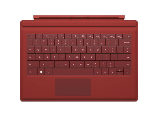 Refurbished: Microsoft Surface Pro 3 Type Cover, QWERTY US Backlit Keyboard  - Newegg com