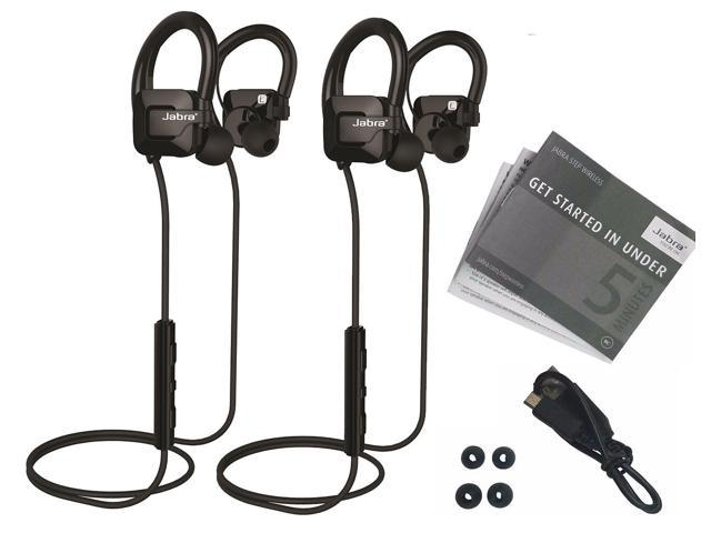Refurb 2 Pk. Jabra Step Sweat-Proof Bluetooth Sport Headphones