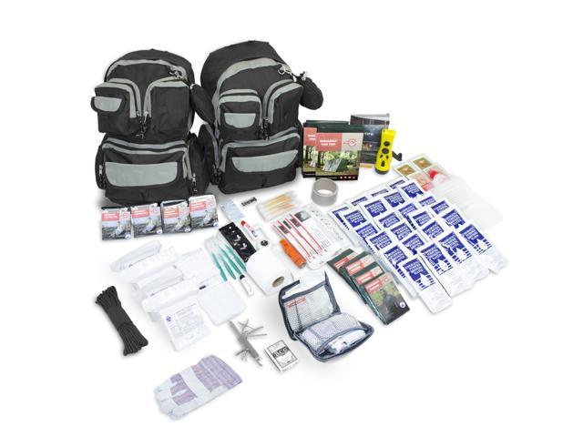 Emergency Zone Urban Survival Bug Out Go Bag 72 Hour Kit 4 Person Disaster Be Prepared For Hurricanes Earthquakes Floods Wildfires