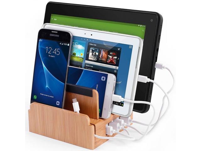 6552deb19205 Compact Universal Desktop Cell Phone & Tablet/eReader/Kindle Charging  Station, with Set