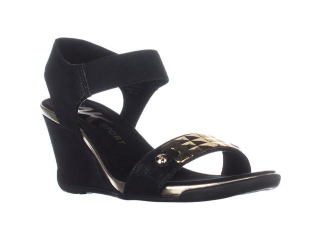 105e79a8dce1 AK Anne Klein Sport Latasha Comfort Wedge Sandals