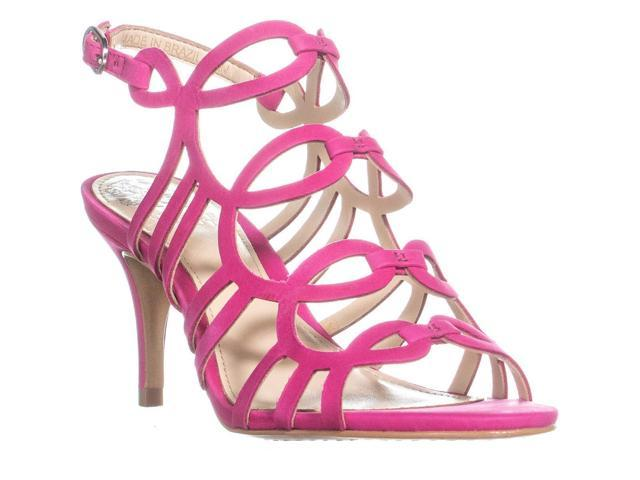 886df907d45 Vince Camuto Petina Ankle Strap Heeled Sandals, Hot Berry Pink, 6 US / 36  EU - Newegg.com