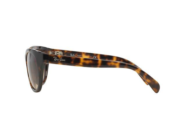 c7b2a63eb8 Ray-Ban Highstreet RB4216 710 13 Sunglasses Tortoise Frame With Brown  Gradient Lens