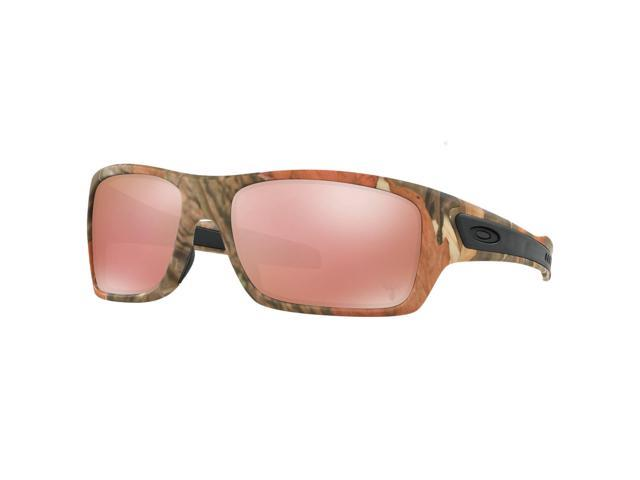 5756a51caf Oakley Turbine OO9263-28 King s Camo Woodland Limited Edition VR28 Black  Iridium Lens Sunglasses