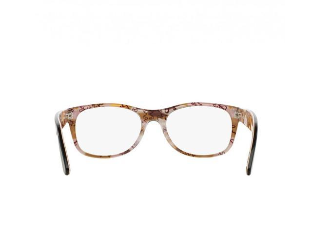 e13d92e2ed7b Ray-Ban RB5184-5409 New Wayfarer Women  s Top Tortoise On Texture Eyeglasses