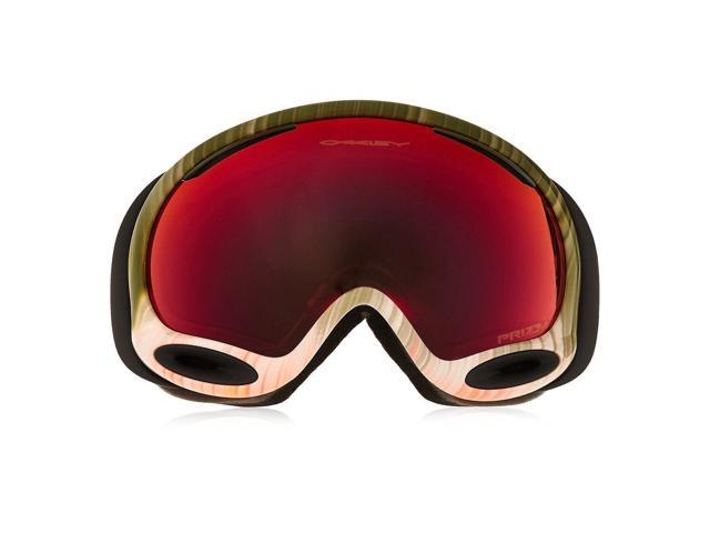 ea1a2a6b73 Oakley OO7044-42 A-Frame 2.0 Multi Color Prizm Torch Iridium Sports Snow Jet  Ski Goggles