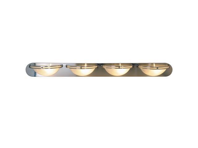 Progress Lighting Lucky Collection 4 Light Brushed Nickel: AF Lighting 617609 Contemporary Lighting Collection Vanity