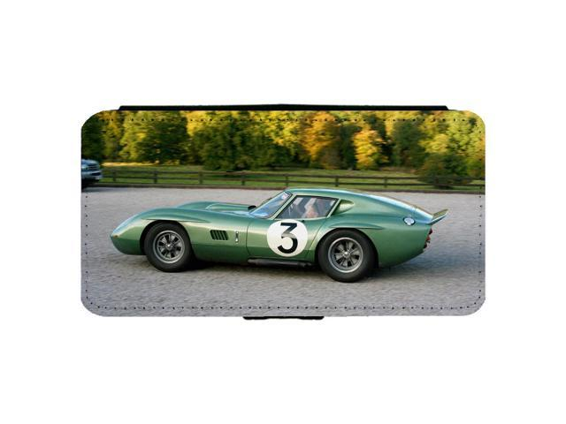 Ac Ford Cobra Le Mans Clic Race Car Iphone 7 Plus Leather Flip Phone Case