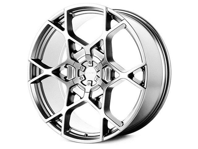 Kmc Km695 Crosshair Chrome 24x9 5 6x120 6x139 7 15mm